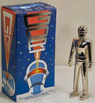 Gort Special Edition Nickel Plated Die Cast Figure