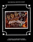 House of Dracula - The Original 1945 Shooting Script - Universal Filmscript Series