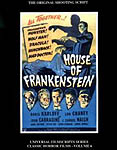 House of Frankenstein - The Original 1944 Shooting Script - Universal Filmscript Series