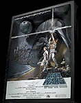 Star Wars A New Hope 3D Poster Sculpture