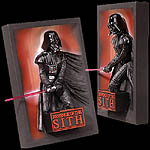 Revenge of the Sith 3D Movie Mini Poster Sculpture
