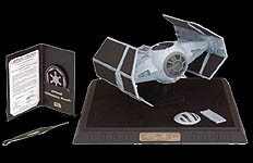 Darth Vader's TIE Fighter Code 3 Replica