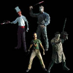 Cinema of Fear Series 3 Action Figure Set