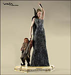 The White Witch and Ginarrbrik Statue